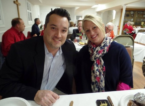 John and Ashley_Valentines Supper 2016